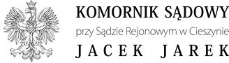 Komornik Sądowy przy SR w Cieszynie Jacek Jarek Logo